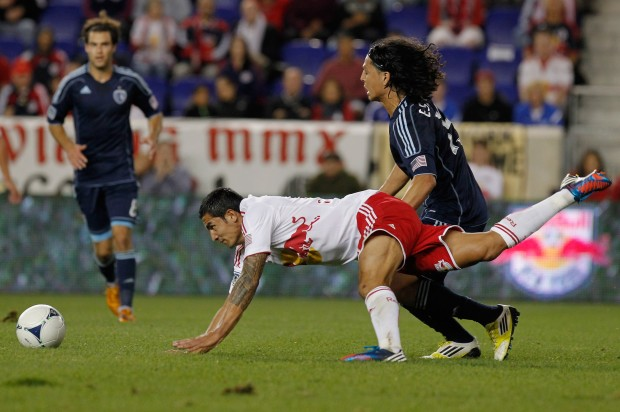 Sporting KC will try to knock off NY once again. (Getty Images)