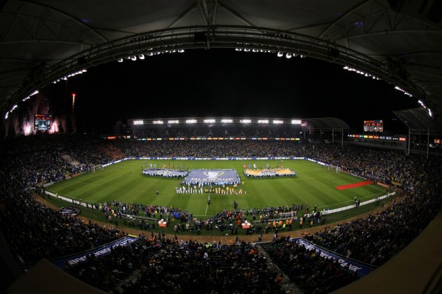 The Home Depot Center is ready for round two between the Dynamo and Galaxy. (Getty Images)