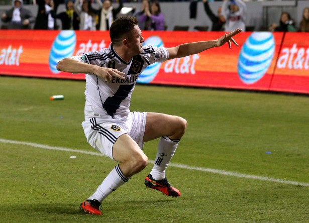 Robbie Keane powered LA over Seattle. (Getty Images)