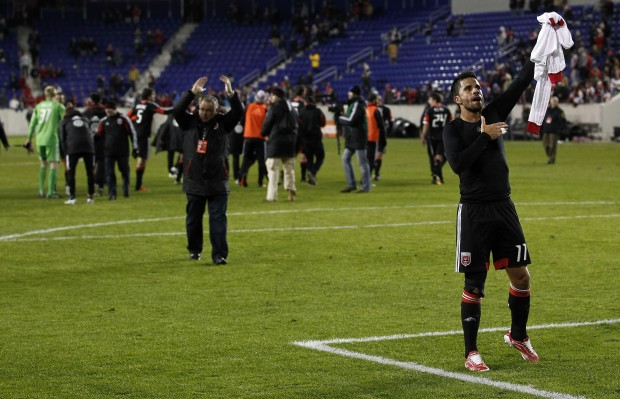 D.C. United pushed past New York last night. (Getty Images)