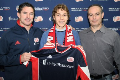 Scott Caldwell is New England's second HGP. (Photo via New England Revolution)