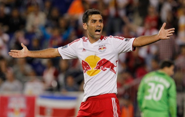 Rafa Marquez is finally gone in New York. (Getty Images)