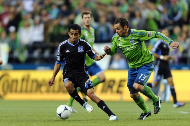 San Jose and Seattle still have work left to do. (Photo via US Presswire)