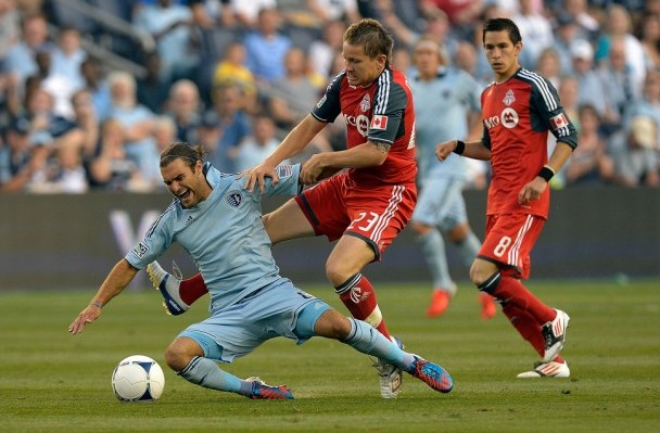 Sporting KC and Toronto still have a couple holes to fill. (Getty Images)