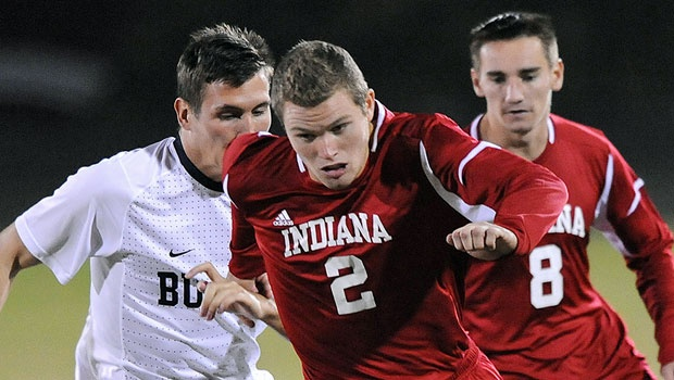 Eriq Zavaleta has some questions about where he'll play. (Photo via Indiana University Athletics)
