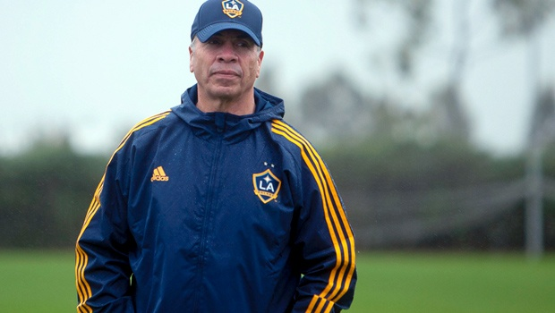 Bruce Arena still has some questions about his club. (German Alegria/LA Galaxy)
