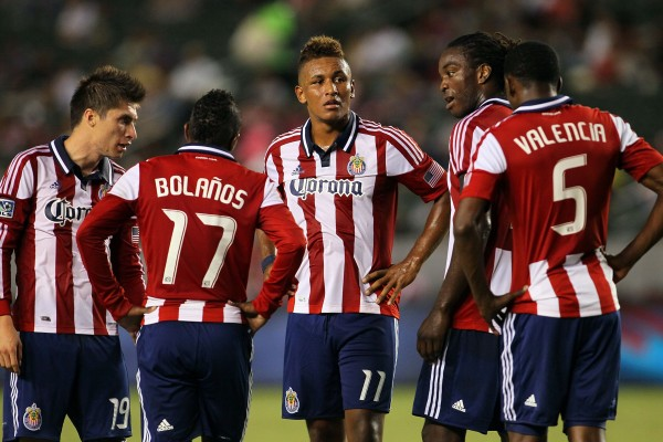 Juan Agudelo and Chivas have so many questions going into 2013. (Photo by Victor Decolongon/Getty Images)