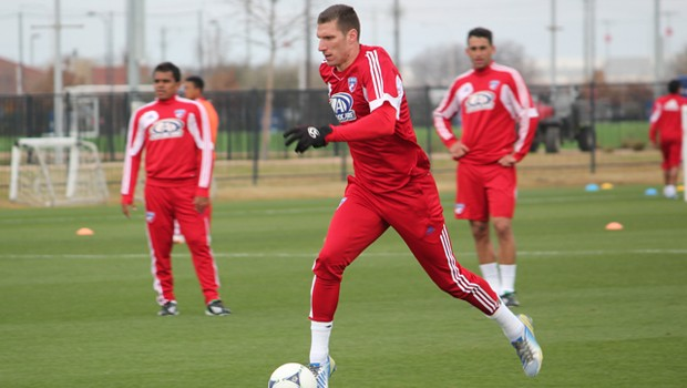Kenny Cooper has returned home to Dallas. (Photo via Jason Minnick for FCDallas.com)