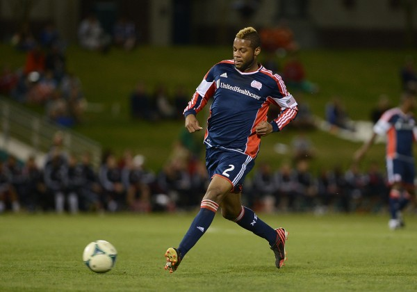 Just how good will Andrew Ferrell be for the Revs? (Photo by Jennifer Stewart/Getty Images)