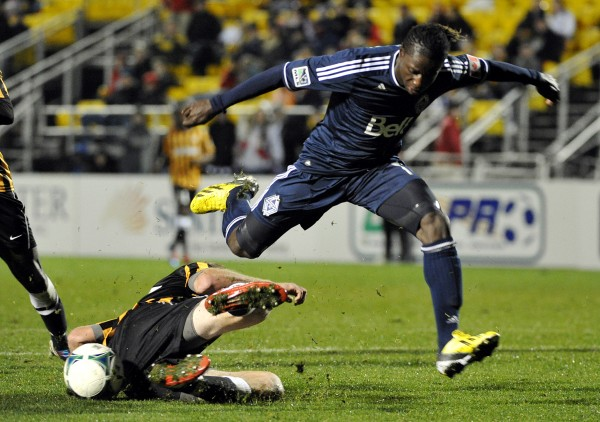 Can Darren Mattocks lead the Caps in 2013? (Photo by Rainier Ehrhardt/Getty Images)