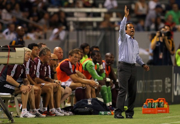 Has Oscar Pareja done enough to prepare the Rapids for 2013? (Photo by Victor Decolongon/Getty Images)