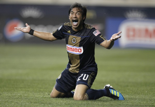 Guess who is back in MLS? ( Photo by Chris Gardner / Getty Images)