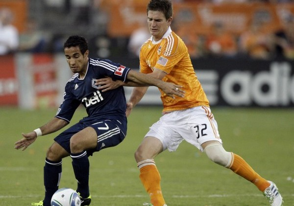 Vancouver hopes to end Houston's unbeaten mark at BBVA Compass Stadium this weekend. (Photo by Bob Levey/Getty Images)