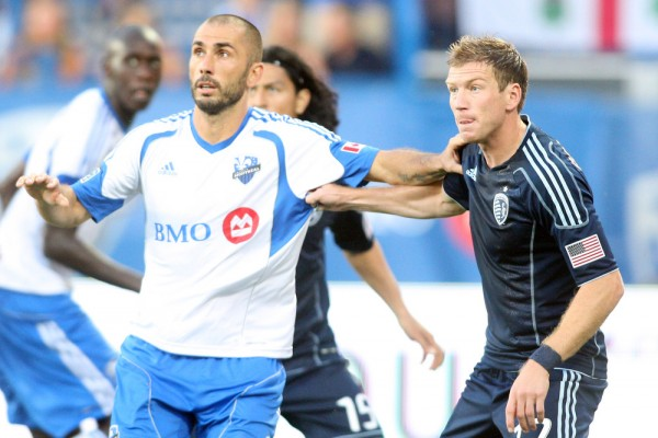 Can SKC slow down Marco Di Vaio and the Impact? (Photo by Richard Wolowicz/Getty Images)