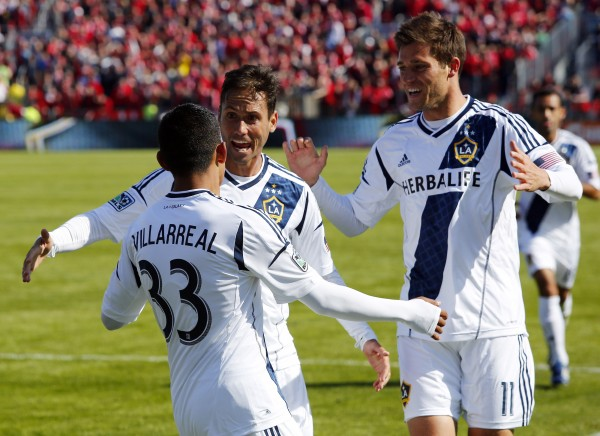 LA ends March as the only unbeaten squad in MLS. (John E. Sokolowski-USA TODAY Sports)
