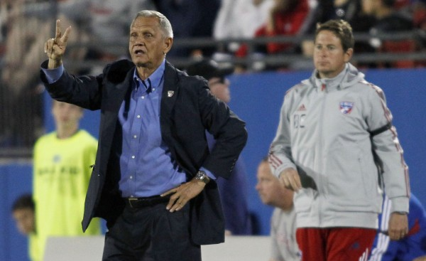 FC Dallas manager Schellas Hyndman wants better protection for his players. (Tim Heitman-USA TODAY Sports)