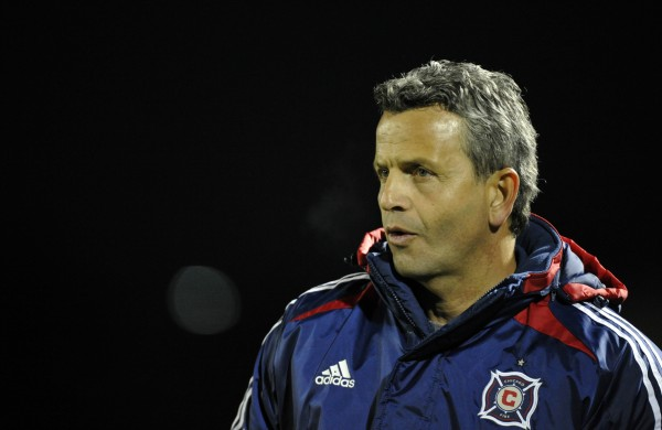 Can the Chicago Fire get their first win of 2013? (Photo by Rainier Ehrhardt/Getty Images)