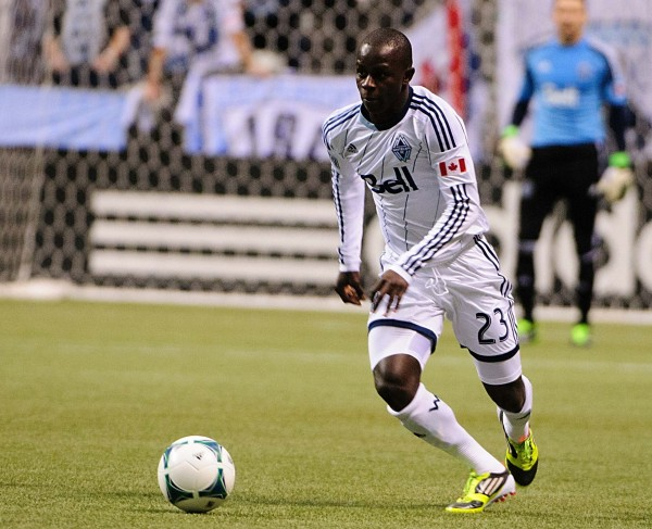 Ketuka Manneh had a monster second half against FC Dallas. (Anne-Marie Sorvin-USA TODAY Sports)
