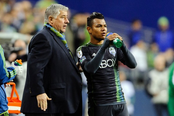 Can Sigi Schmid and his Sounders get things going this weekend? (Steven Bisig-USA TODAY Sports)