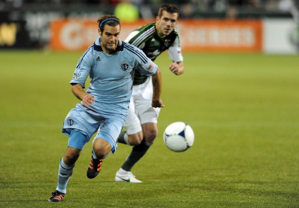 Can Portland hold off Graham Zusi and Sporting KC? (Photo by Steve Dykes/Getty Images)