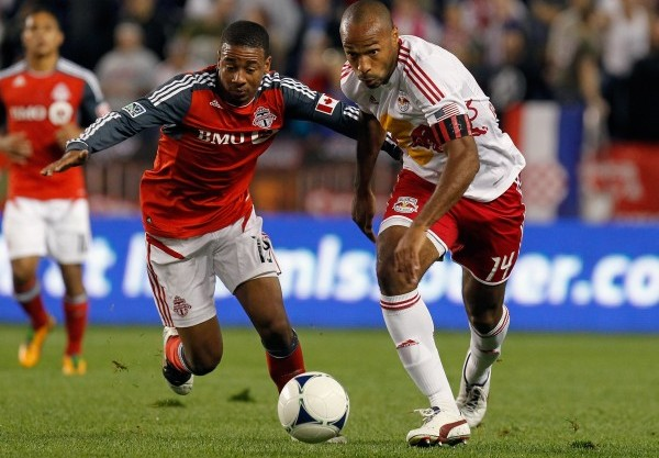 Can New York get by Toronto this weekend? (Photo by Mike Stobe/Getty Images for New York Red Bulls)