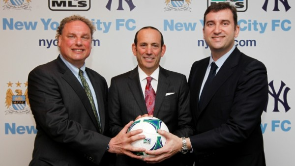 NYCFC still searches for a stadium.. (Photo via MLS/NYCFC)