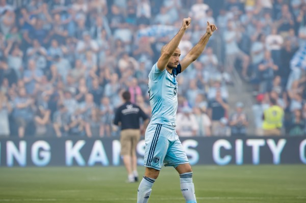 Sporting KC ended Houston's impressive home streak over the weekend. (Photo by Mark Shaiken - WVHooligan staff photographer)
