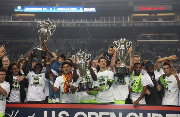 It may be a couple years before we see this again in the US Open Cup. (Photo by Otto Greule Jr/Getty Images)