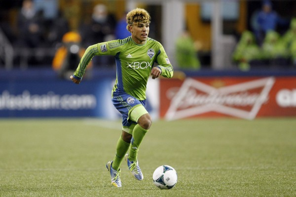 DeAndre Yedlin has been getting a lot of minutes early this season for Seattle. (Joe Nicholson-USA TODAY Sports)