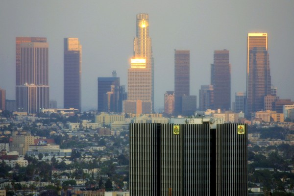Downtown_LA_Sunset