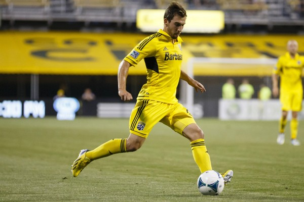 Chad Barson looks to become a permanent fixture in the Crew defense. (Rick Osentoski-USA TODAY Sports)