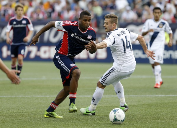 Andrew Farrell has been a big part of the Revs rebound this season. (David Butler II-USA TODAY Sports)