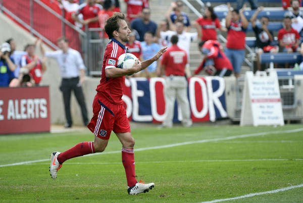 Mike Magee is running away with things this year. (Mike DiNovo-USA TODAY Sports)