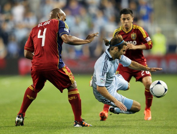RSL and SKC battle it out this weekend to see who is the best club in MLS. (Photo by Jamie Squire/Getty Images)