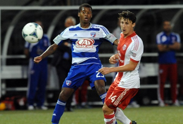 Kellyn Acosta (right) is starting to make an impact for FC Dallas. (Steve Dykes-USA TODAY Sports)
