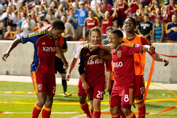 Can RSL manage to win both the USOC and the Supporters' Shield in one year? ( Russ Isabella-USA TODAY Sports)
