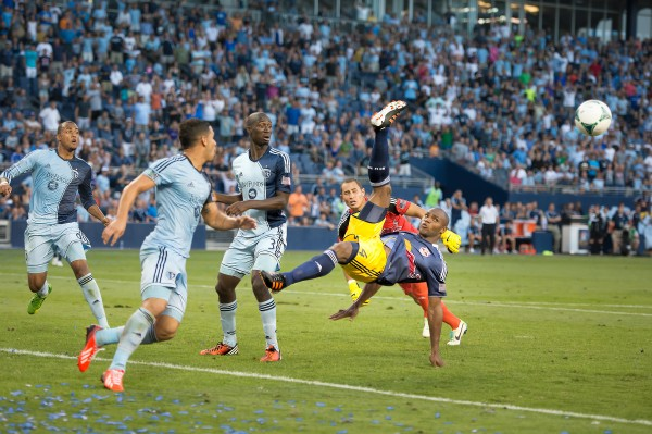 Can SKC respond after two straight losses in league play?  (Photo by Mark Shaiken - WVHooligan staff photographer)