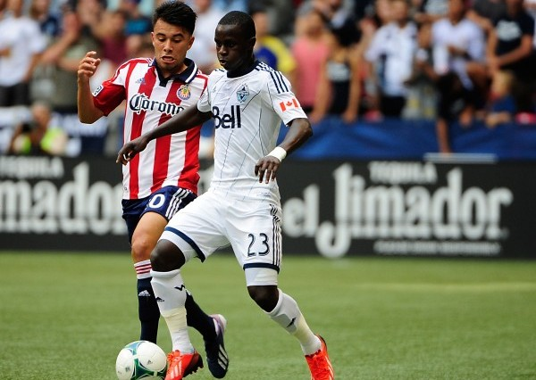 Carlos Alvarez and Ketuka Manneh battled it out this past weekend. (Anne-Marie Sorvin-USA TODAY Sports)