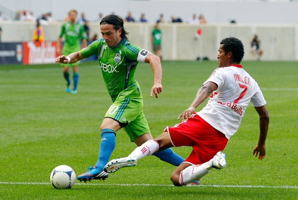 Seattle and New York headline a busy weekend in MLS. (Photo by Jim McIsaac/Getty Images)