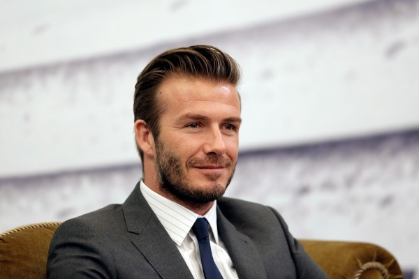 David Beckham and his team are closing in on an expansion bid in Miami.  (Photo by Lintao Zhang/Getty Images)