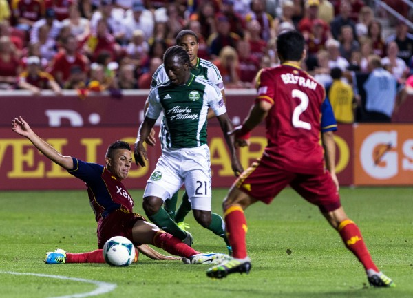Can Portland hold off RSL? (Chris Nicoll-USA TODAY Sports)