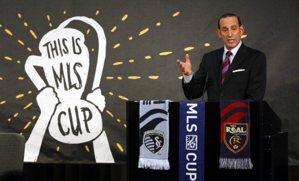 Don Garber is heading to San Antonio. (Noah K. Murray-USA TODAY Sports)
