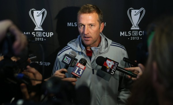 Jason Kreis made headlines already this offseason by taking the NYCFC job. (Jerry Lai-USA TODAY Sports)