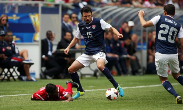 Michael Parkhurst returns to MLS. (Jerry Lai-USA TODAY Sports)
