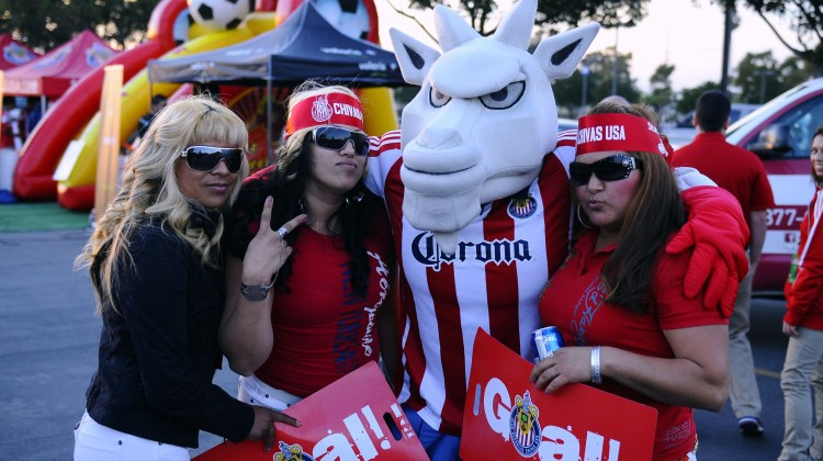 Could Chivas finally rebrand? (Christopher Hanewinckel-USA TODAY Sports)