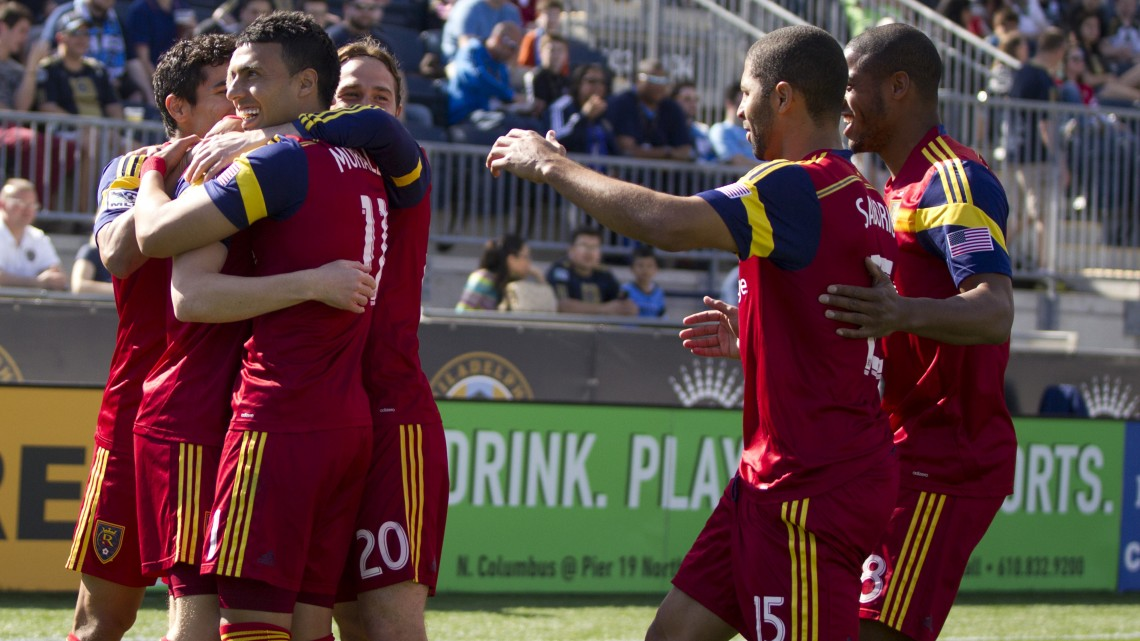 RSL is the lone unbeaten now on the season. (Photo by Mitchell Leff/Getty Images)