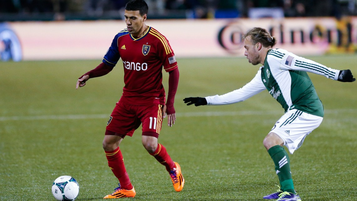 Can Portland hold off Javier Morales and RSL this weekend? (Chris Nicoll-USA TODAY Sports)