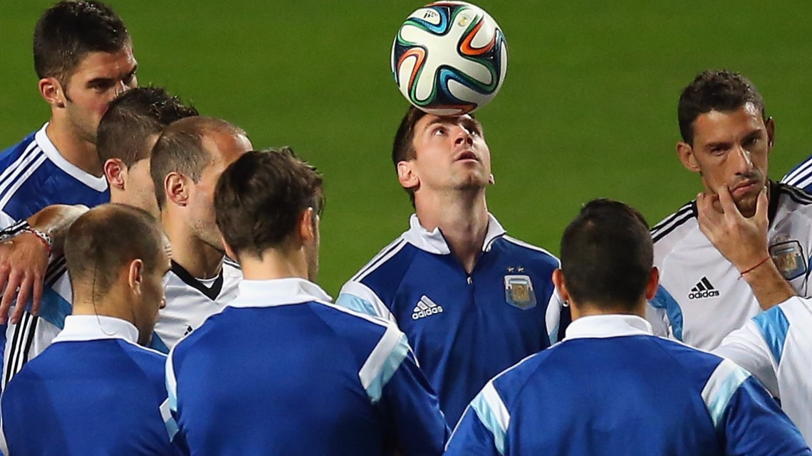 Argentina Training - 2014 FIFA World Cup