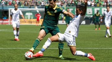 MLS: Los Angeles Galaxy at Portland Timbers